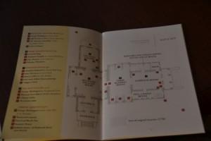 In der broschüre zur Bibliothek werden alle Räume übersichtlich dargestellt