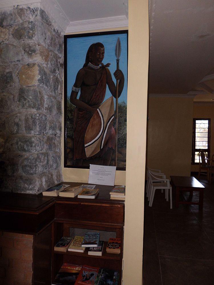 In einer Nische neben dem Ess- oder Aufenthaltsraum (rechte Bildhälfte) gibt es ein Büchertauschregal. Foto: Birte Mirbach