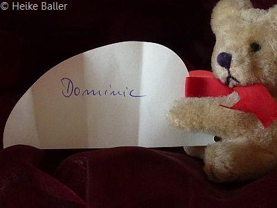 Herzlichen Glückwunsch, Dominic