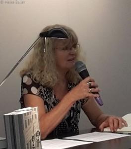 Marion Tauschwitz bei der Lesung auf der Frankfurter Buchmesse am 8.10.2014