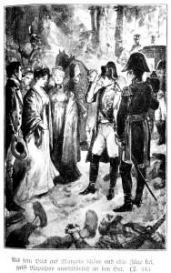 Kurz danach sitzt Margot mit dem Kaiser in seiner Kutsche