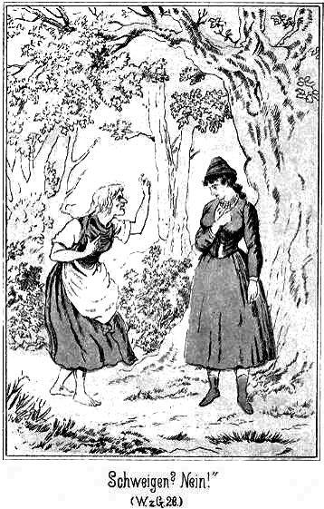 Die Tochter des Silberbauern muss sich einiges anhören - doch letzten Endes wird sie die Frau von Max Walter, dem Lehrer