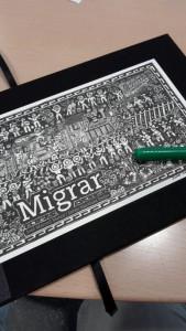 Das Werk Migrar von außen
