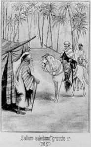 Oskar Steinbach trifft auf einen heuchlerischen Greis in der Wüste