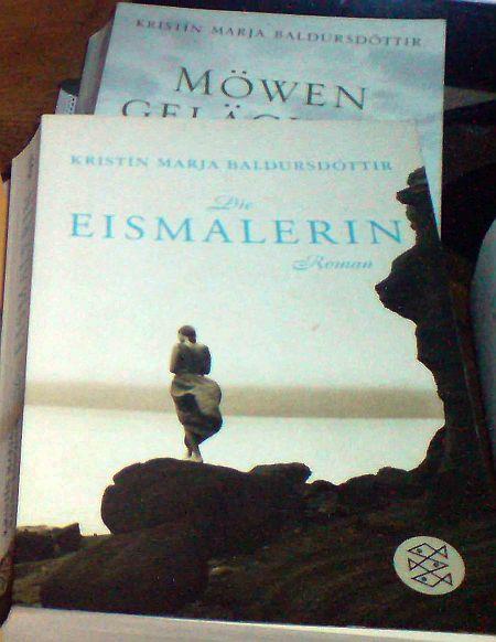 Kristin Marja Baldursdottir – Die Eismalerin. Fischer Verlag 2007, ISBN-10: 3596169321, ISBN-13: 978-3596169320