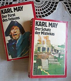 Waldröschen Karl May Bücherschrank
