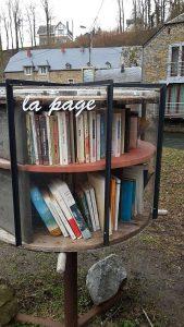 Offener Bücherschrank Spontin, Details