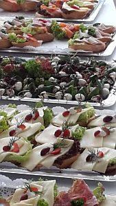 Brötchen & Co in der Mittagspause der LitBlogConvention