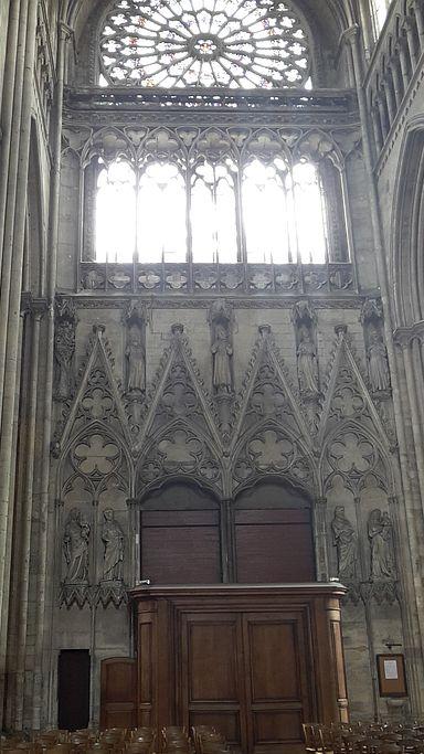 Kathedrale von Rouen Potail ds Libraires von innen