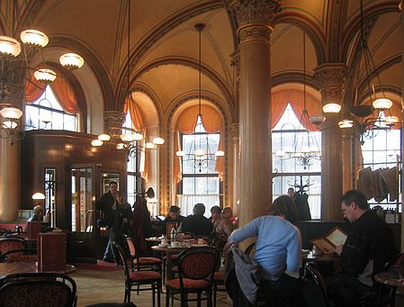 Kaffehaus Wien für Roman Vienna von Eva Menasse, das Buch der Stadt 2018