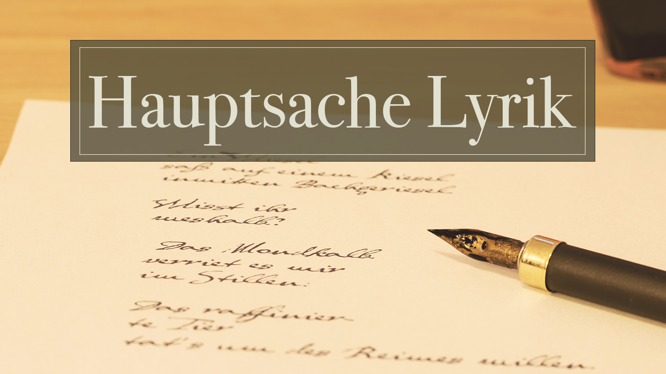 Hauptsache Lyrik – Poetry Atlas