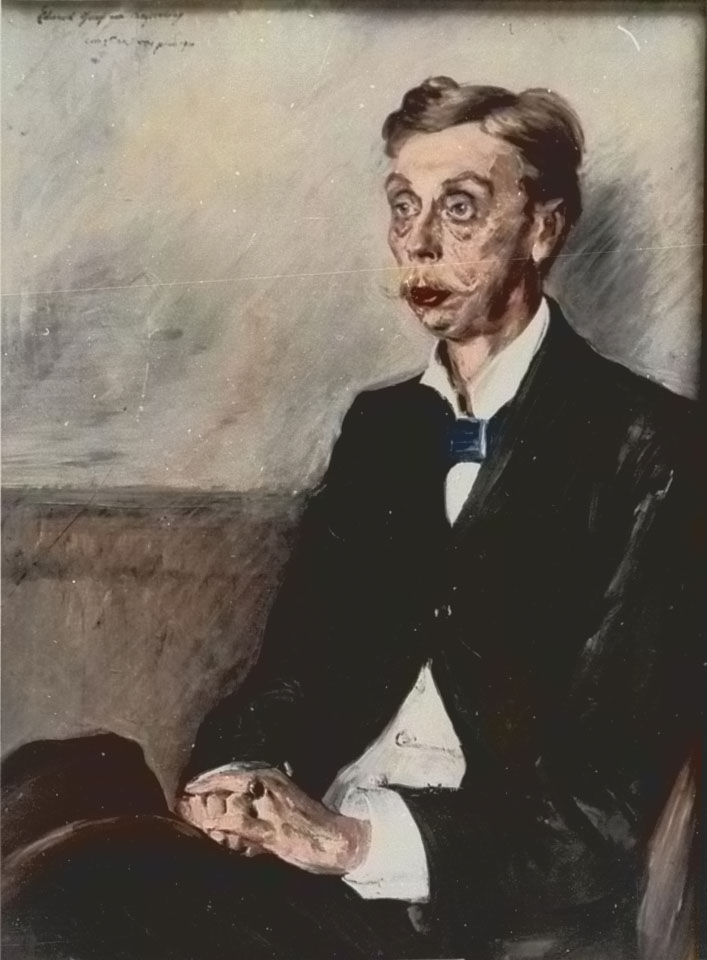 Lovis Corinth Eduard Graf von Keyserling Klaus Modick