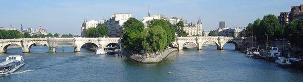 Der Pont Neuf, Schauplatz des ersten Krimis von Alex Lépic