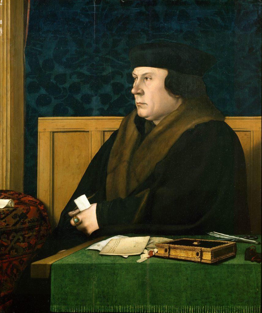 Porträt von Thomas Cromwell, gemalt von Hans Holbein