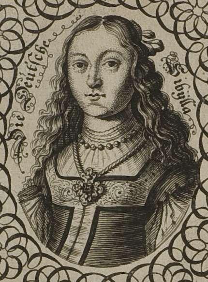 Holzschnitt Sybilla Schwarz