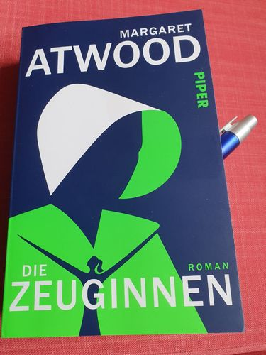 Cover des Buchs Die Zeuginnen von Margaret Atwood.