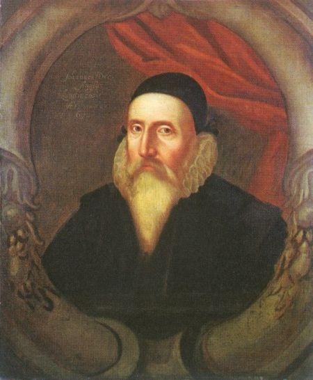 weißbärtiger Mann in der Tracht des 16. Jahrhunderts
